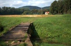 Countryside, Bakonybel, Hungary Stock Photography