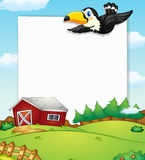 Countryside banner Royalty Free Stock Photo