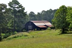 Countryside barn Royalty Free Stock Photo