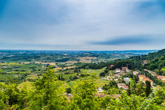 Countryside of Bertinoro Royalty Free Stock Photo
