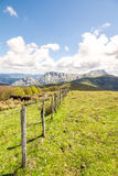 Countryside at biscay, spain. Landscape at biscay coutryside in basque country Royalty Free Stock Image