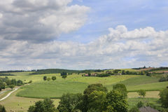 Countryside, Bourdeilles, Dordogne, France Royalty Free Stock Photo