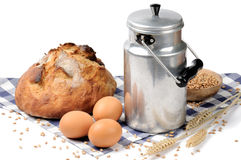 Countryside breakfast Stock Images