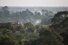 Countryside in Cambodia Royalty Free Stock Photos