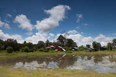 Countryside Cambodian landscape Stock Photos