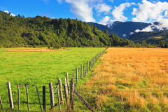 Countryside in Chilean Patagonia Royalty Free Stock Photography