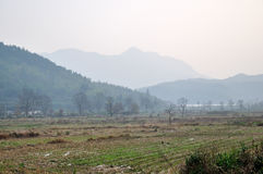 The countryside in China Royalty Free Stock Photo