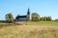 Countryside church in Sweden Royalty Free Stock Photography