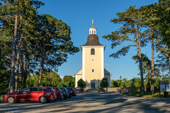 Countryside church in Sweden Royalty Free Stock Image
