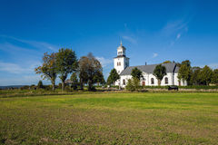 Countryside church in Sweden Royalty Free Stock Images