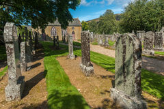 Countryside Churchyard UK Royalty Free Stock Images