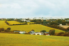 Countryside  in Cornwall, UK Stock Photo