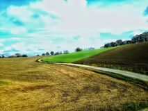 Countryside. View, Germany Royalty Free Stock Photos