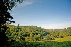 Countryside of cragside Royalty Free Stock Photography