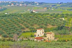 Countryside in Crete, Greece Royalty Free Stock Photography