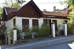 Wooden House, Turkey stock images