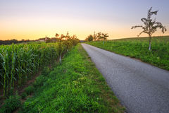 Countryside, Czech Republic. Royalty Free Stock Photography