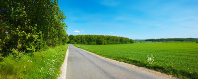 Countryside in Denmark Royalty Free Stock Photos