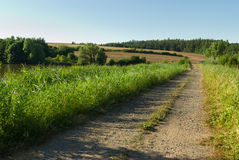 Countryside Dirt Road Royalty Free Stock Photos