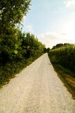 Countryside Dirty Road Royalty Free Stock Photos