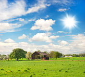 Countryside. european landscape Royalty Free Stock Image