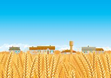 Countryside royalty free illustration