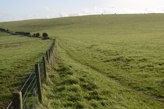 Countryside at Falmer. Sussex. England Royalty Free Stock Images