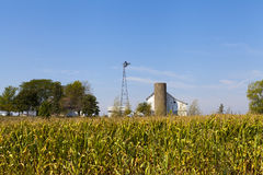 Countryside Farm Royalty Free Stock Photography