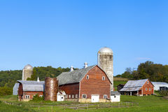 Countryside Farm Royalty Free Stock Photos
