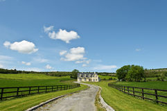 Countryside farm house landscape Royalty Free Stock Photography