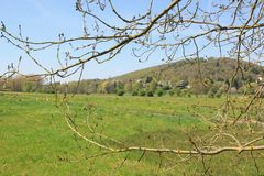 The countryside a few kilometers from Paris (France). Royalty Free Stock Photography