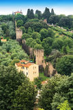 Countryside in Florence, Italy Royalty Free Stock Photo