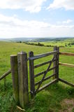Countryside gate. Royalty Free Stock Photo