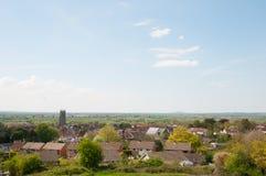 Countryside of Glastonbury Royalty Free Stock Photo