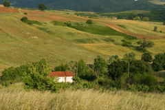 Countryside. The green rolling countryside near Iznik, Turkey stock photography