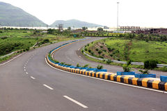 Countryside Highway Royalty Free Stock Photos