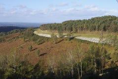 Countryside at Hindhead. Surrey. UK Stock Photography