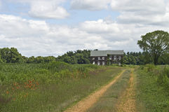 Countryside Home Stock Photo