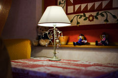Countryside house comfortable interior in alsacien style Stock Photography