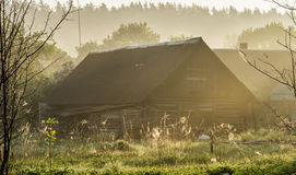 Countryside house Royalty Free Stock Photos