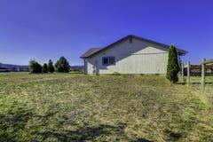 Countryside house exterior with landscape. Washington real estat Stock Photos