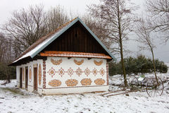 Countryside house in Poland. stock images