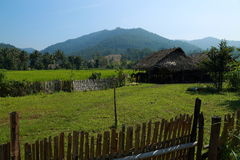 Countryside house. At tak province, thailand Royalty Free Stock Photography