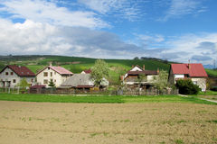 Countryside houses Royalty Free Stock Images