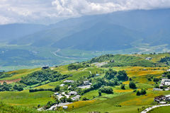 Countryside in Hualien Royalty Free Stock Photo