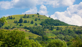 Countryside in Hunedoara county Royalty Free Stock Images
