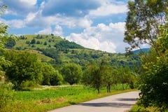 Countryside in Hunedoara county Stock Photography