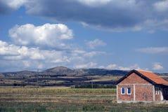 Countryside, Kosovo Stock Photo