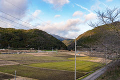 Countryside in Kyoto Japan Stock Images