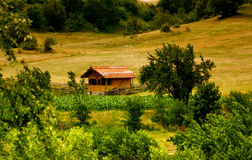 Countryside landscape Stock Photography